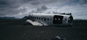DC-3 wreck in Iceland by Abram Goglanian