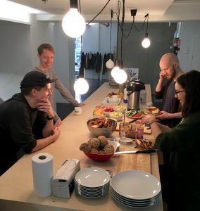 Team breakfasts rock!