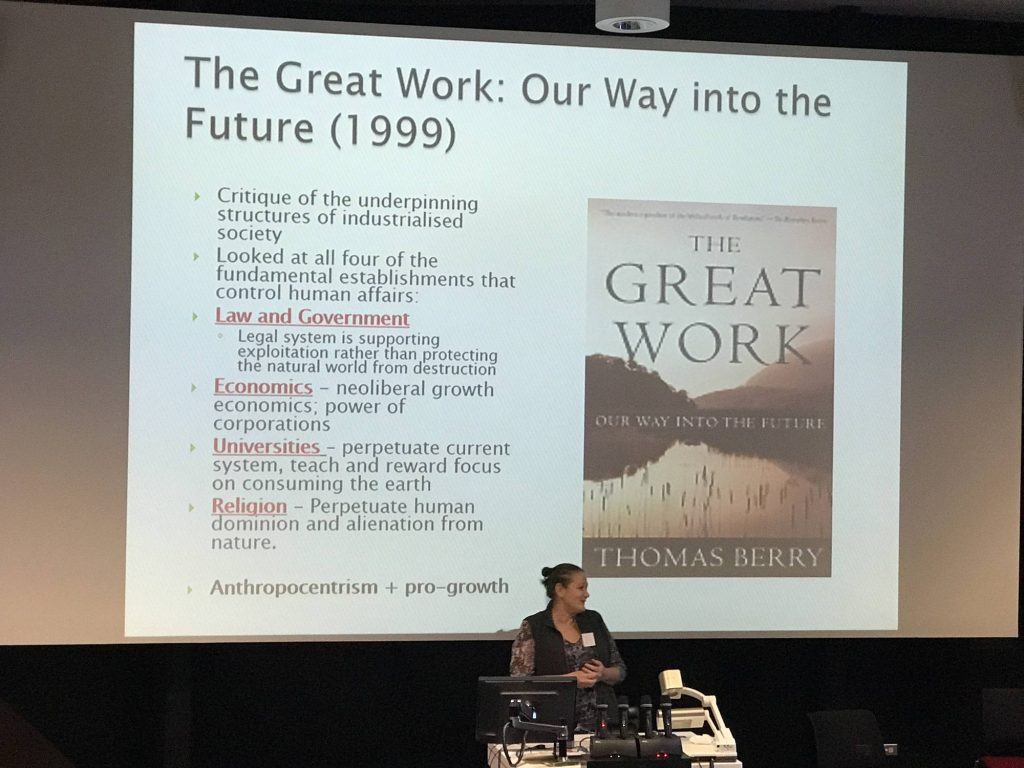 The Great Work: Our Way into the Future (1999)